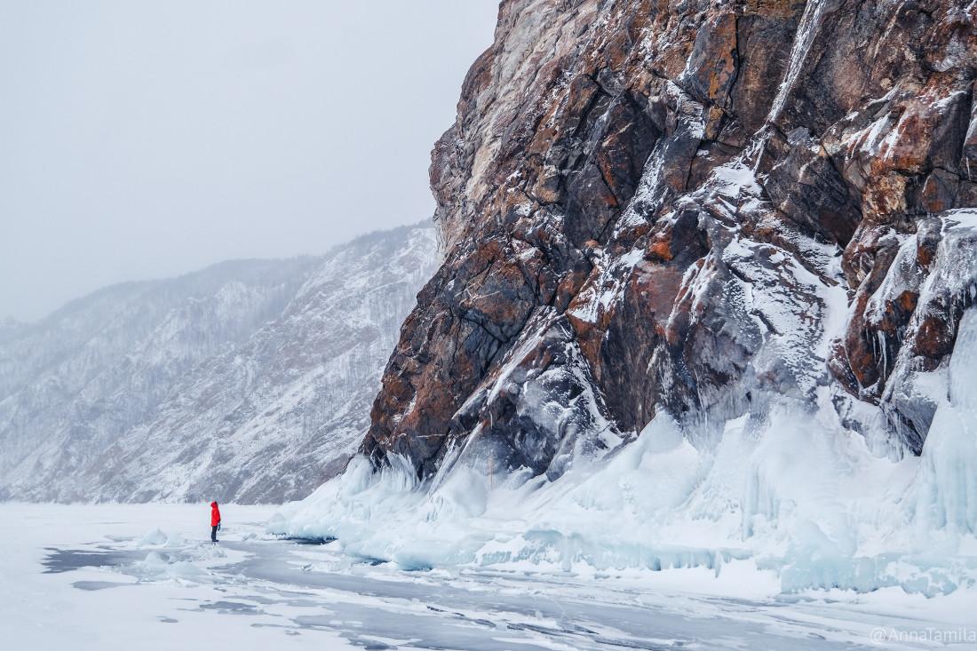 Путешествие по льду Байкала пешком самостоятельно (73)