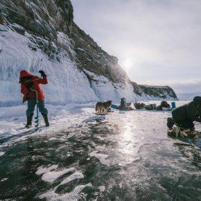 Путешествие по льду Байкала пешком самостоятельно (64)