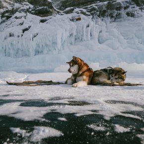 Путешествие по льду Байкала пешком самостоятельно (63)