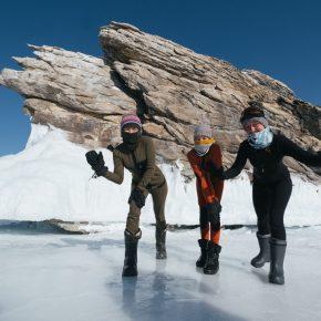 Путешествие по льду Байкала пешком самостоятельно (54)