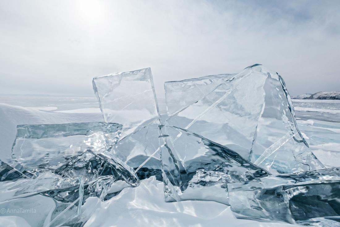 Путешествие по льду Байкала пешком самостоятельно (48)
