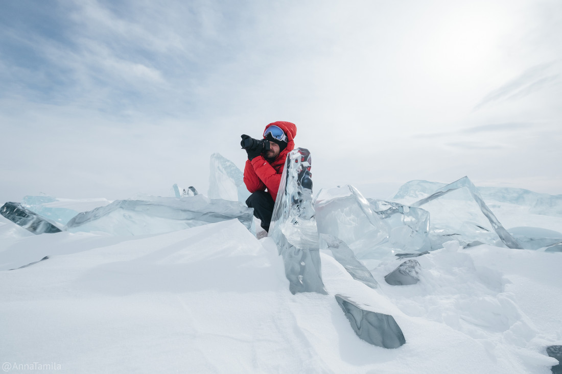 Путешествие по льду Байкала пешком самостоятельно (43)