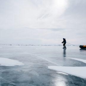 Путешествие по льду Байкала пешком самостоятельно (42)