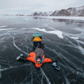 Путешествие по льду Байкала пешком самостоятельно (37)