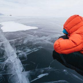 Путешествие по льду Байкала пешком самостоятельно (36)