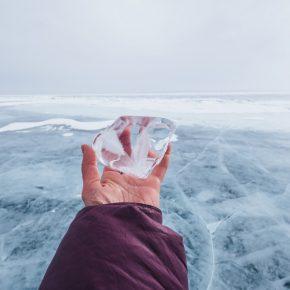 Путешествие по льду Байкала пешком самостоятельно (30)