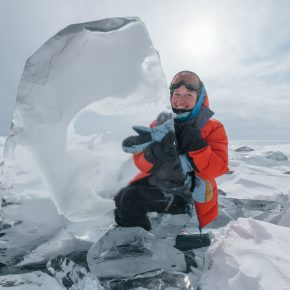 Путешествие по льду Байкала пешком самостоятельно (29)
