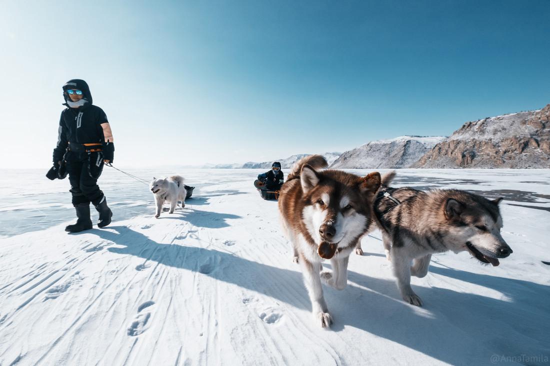 Путешествие по льду Байкала пешком самостоятельно (28)