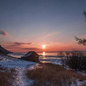 Путешествие по льду Байкала пешком самостоятельно (27)