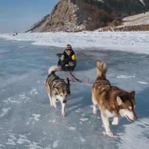 Путешествие по льду Байкала пешком самостоятельно (20)