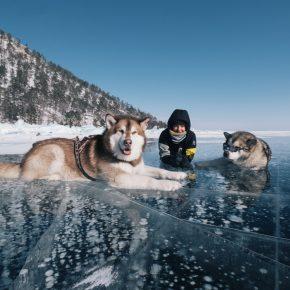 Путешествие по льду Байкала пешком самостоятельно (12)