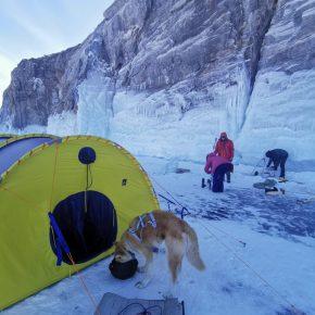 Путешествие по льду Байкала пешком самостоятельно (10)