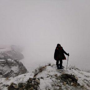 Путешествие по льду Байкала пешком самостоятельно (5)